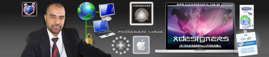 Alexandre Goya, Consultor e Programador Webmaster Especialista em SEO e SEM Certificado Google Partner, Site ou Blog WordPress e Loja Virtual para Ecommerce.