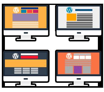 tema personalizado para Sites ou Blogs em WordPress